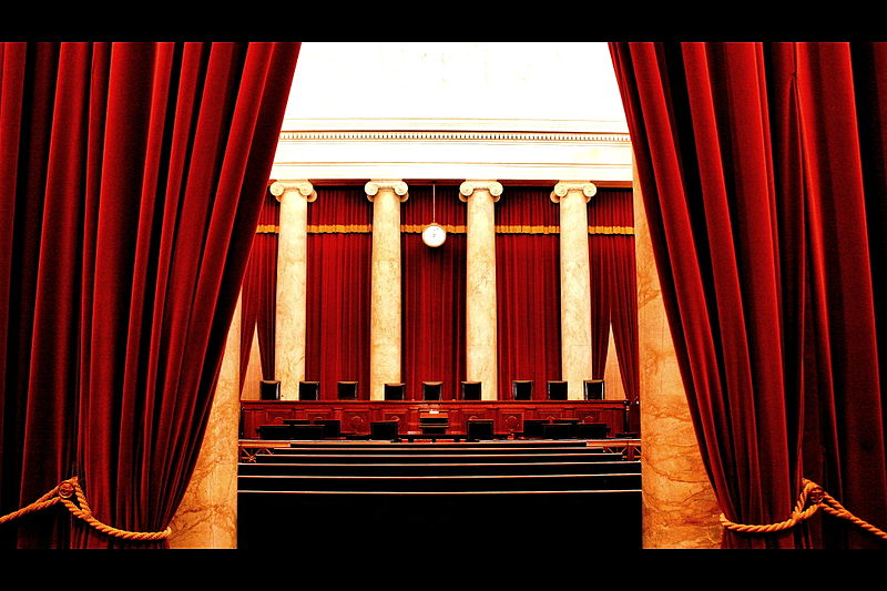 Supreme Court Chambers, by flickr user Phil Roeder